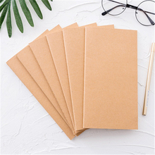 DL Travel Notepad creative work without printing simple retro kraft paper student supplies