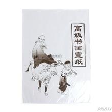 30 шт. белая бумага для рисования Xuan рисовая бумага китайская живопись и каллиграфия 49x34 см/35x26 см Z11 Прямая поставка
