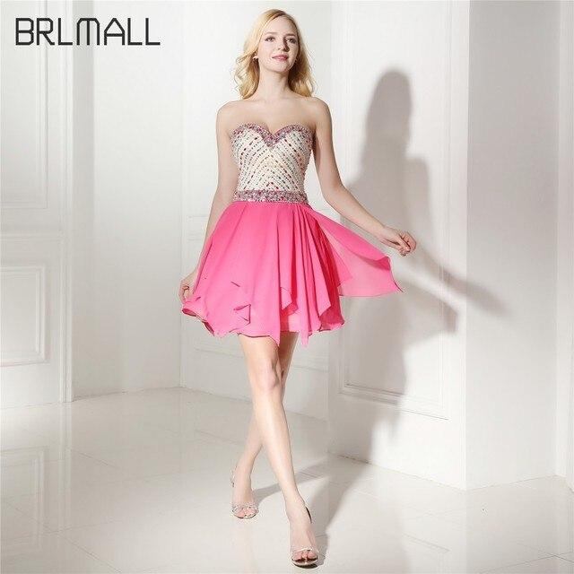 BRLMALL Cariño Una Línea de Vestidos de Fiesta de Moda de Lujo Con ...