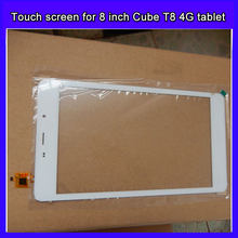 Replacement capacitive touch screen panel for 8 inch CUBE T8 4G call tablet PC digitizer glass sensor for XC-PG0800-026-A-Fpc(China)