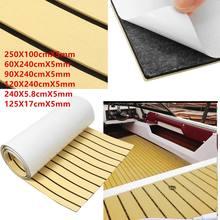 Boat EVA Foam Teak Sheet Self Adhesive Marine Boat Flooring