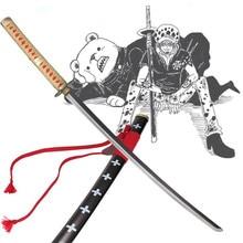 Japanese samurai cosplay One Piece katana Carbon steel font b anime b font bleach font b