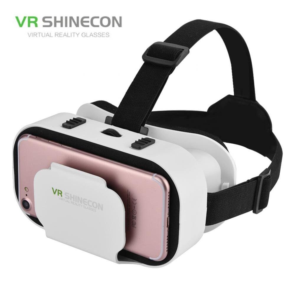 VR SHINECON 5.0 Lunettes de Réalité Virtuelle 3D Lunettes Pour iPhone/Samsung/Huawei Xiaomi 4.7-6.0 pouce Téléphones universel