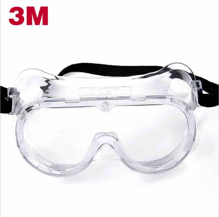 3M1621AF anti-fog goggles laboratory BBP glasses dust-proof impact glasses anti-acid spray