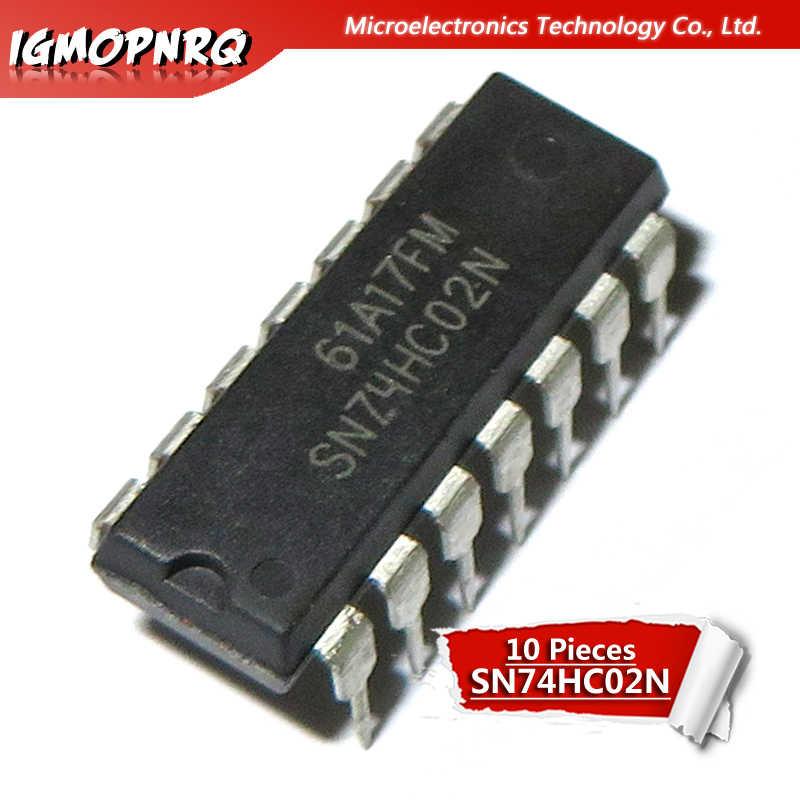 Texas Instruments SN74HCT02N Quad 2 entrada ni puerta lógica DIP14