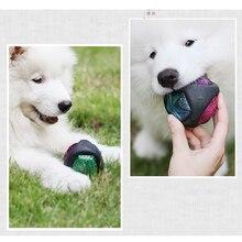 Тренировочный мяч Bouncy мячи для собак резиновые Bouncy Bite-Resistant Dog жевательный Мячик с легким прочным питомцем игрушки поставщик