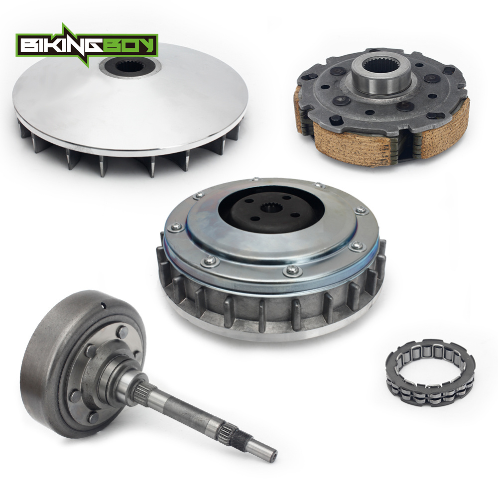 BIKINGBOY Full Sets Primary Wet Drive Clutch Housing Carrier Drum Bearing For Yamaha Grizzly 660 2002