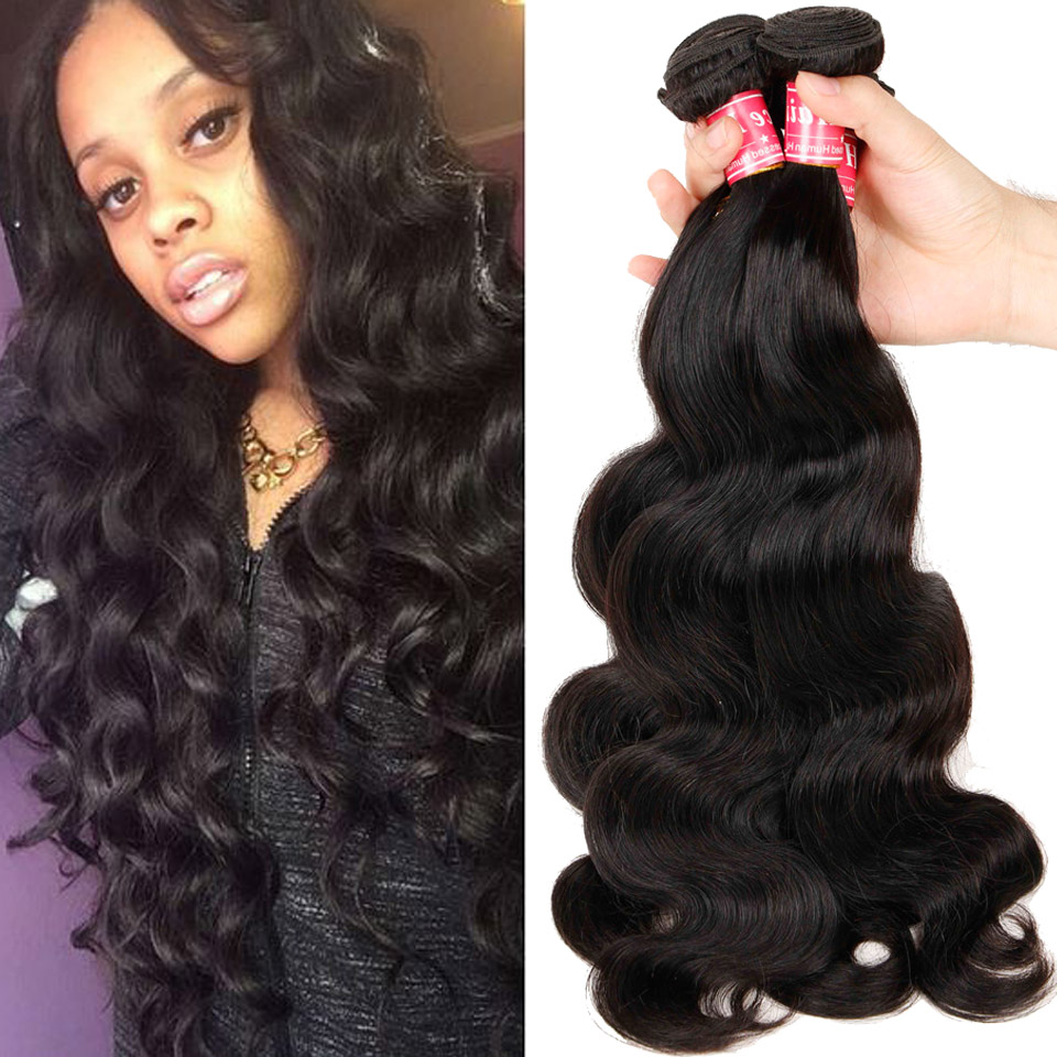 Brazilian Virgin Hair Body Wave 3pcs 7a Unprocessed Human