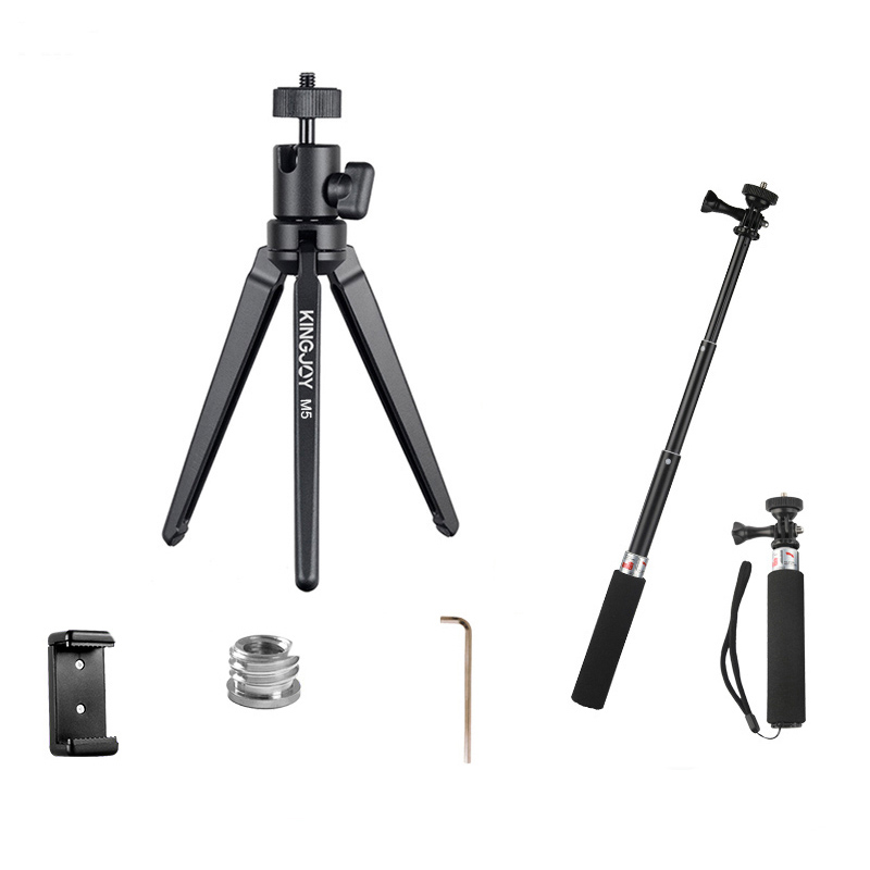 Aluminum Mini Tripod For Phone Camera Stand With Ball head Tripod For Mobile Holder Flexible Profesional