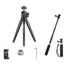 Алюминиевый мини-штатив для телефона с подставкой для камеры с шаровой головной Штатив для мобильного держателя гибкий Профессиональный штатив