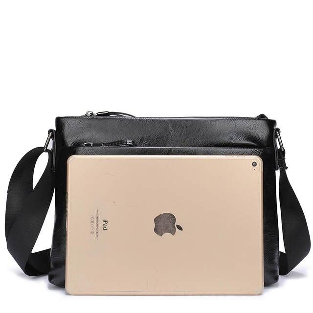 73568d3db4ad VORMOR New Famous Brand Men Bag PU Leather Man Messenger Bags Male Shoulder  Crossbody Bag