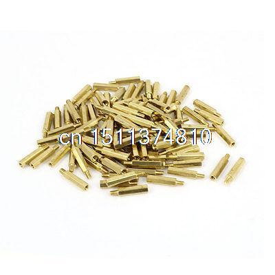100 Pcs Standoff Hex Spacer Screw Nut M2x11 for CCTV Camera Parts pols potten подсвечник