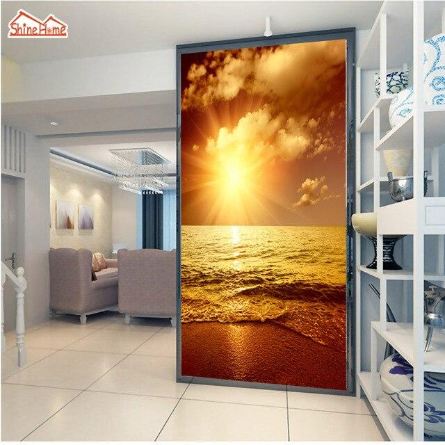 Shinehome Marin 3d Rouleaux De Papier Peint Pour Les Murs 3 D Salon