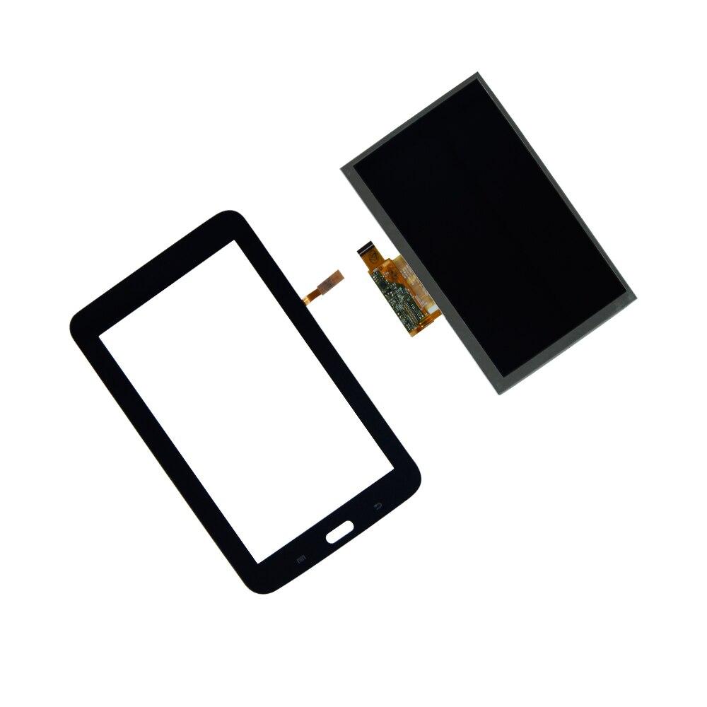 Écran tactile Digitizer Écran lcd Pour Samsung Galaxy Tab 3 7.0 Lite SM-T110 l'ensemble de L'écran Tactile Tablet Panneau Pièces De Rechange