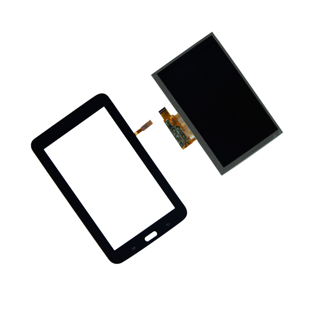 Touch Screen Digitizer  LCD Display For Samsung Galaxy Tab 3 7.0 Lite SM-T110 TouchScreen Assembly Tablet Panel Repair Parts touch screen replacement module for nds lite