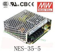 Origine MEAN WELL puissance suply unité ac à dc alimentation NES-35-5 35 W 5 V 7A MEANWELL