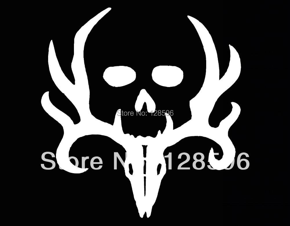 Bone Collector Deer Hunting Gun Truck SUV Vinyl Window Decal - Window stickers for trucks hunting