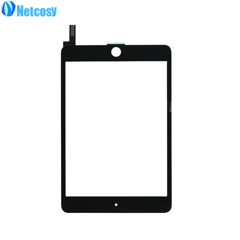 Netcosy Touchscreen For ipad mini 4 Touch Screen Glass Digitizer panel Replacement for iPad mini 4 Touch panel  Black/White