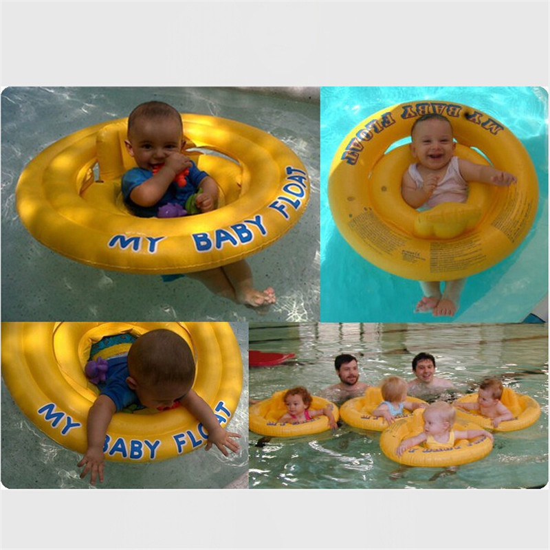 Baby Swimming Ring Donut pool inflatable float ring Seat Children ...