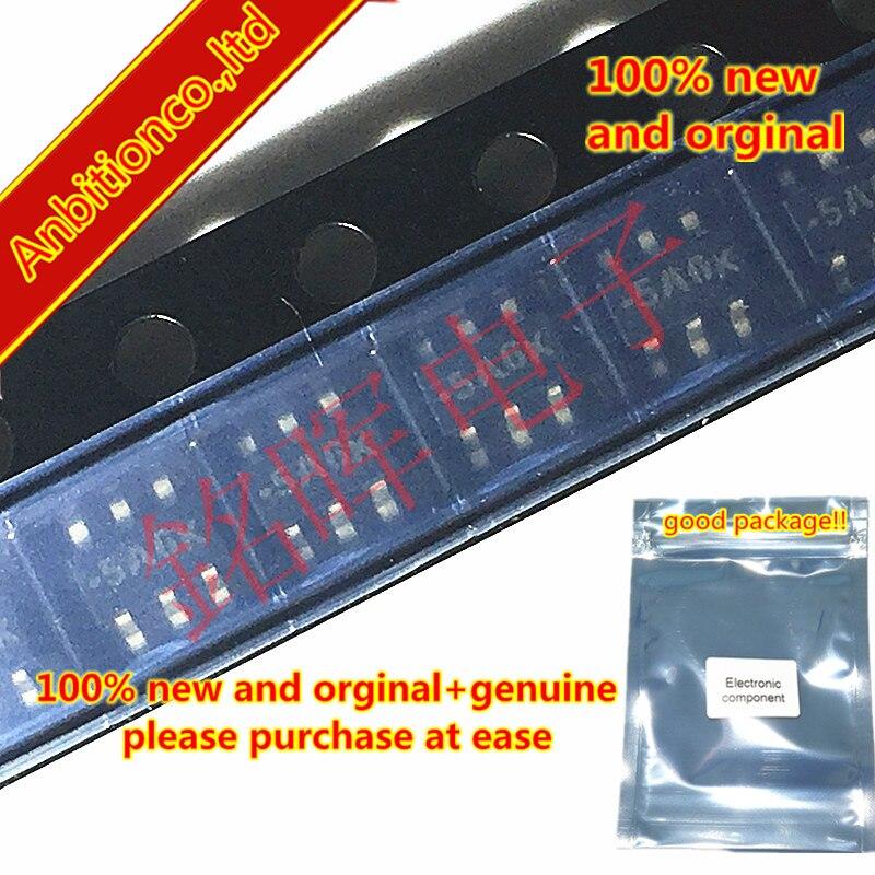 10pcs 100% New And Orginal MMQA5V6T1 Silk-screen 5A6 SOT23-5 5.6V In Stock