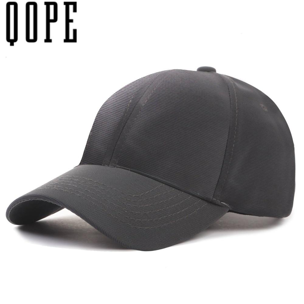 2017 high quality elastic fabric baseball cap for men women golf snapback cap Sport Outdoor solid color adjustable Cap V02 fashion solid color baseball cap for men and women