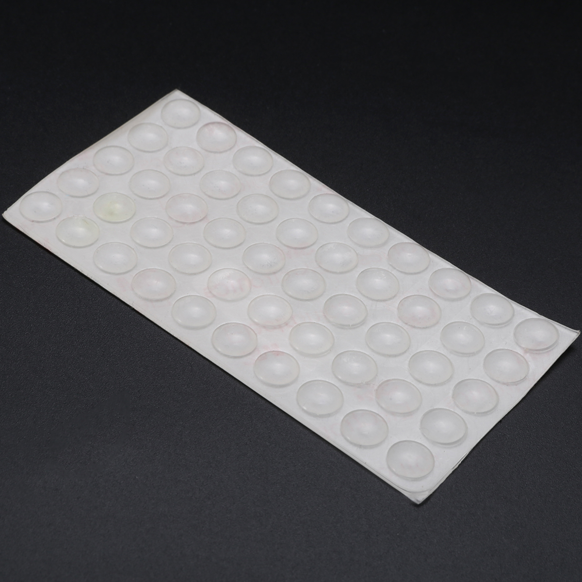 50pcs Self Adhesive Rubber Feet Pads Silicone Transparent Cupboard ...