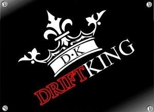 Dk Drift King Car Van Motor Sticker Vinyl Racing In