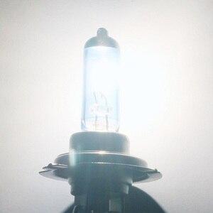 Image 5 - LED הנורה תאורה אופנועי 90W DC12V סופר לבן קוורץ זכוכית כחול פנס מנורת נורות ערפל אורות סטיילינג
