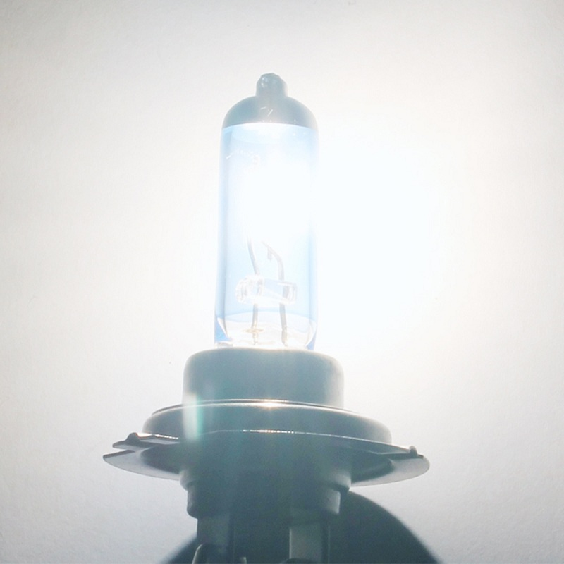 Image 5 - LED Bulb 2PCS DC12V 100w/90W DC12V Super White Quartz Glass Blue Headlight Lamp Bulbs Head Light Bulb Fog lights Styling-in LED Bulbs & Tubes from Lights & Lighting