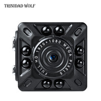 TRINIDAD WOLF 2017 SQ10 Full HD 1080P Mini DV DVR Camera Camcorder IR Night Vision Video