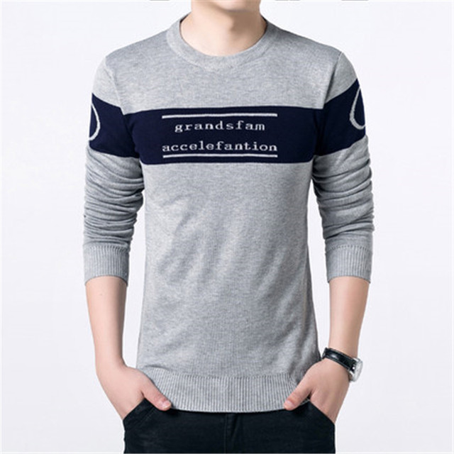 New Pullover Men Brand Sweater Men 2017 Cashmere Clothing Print ...