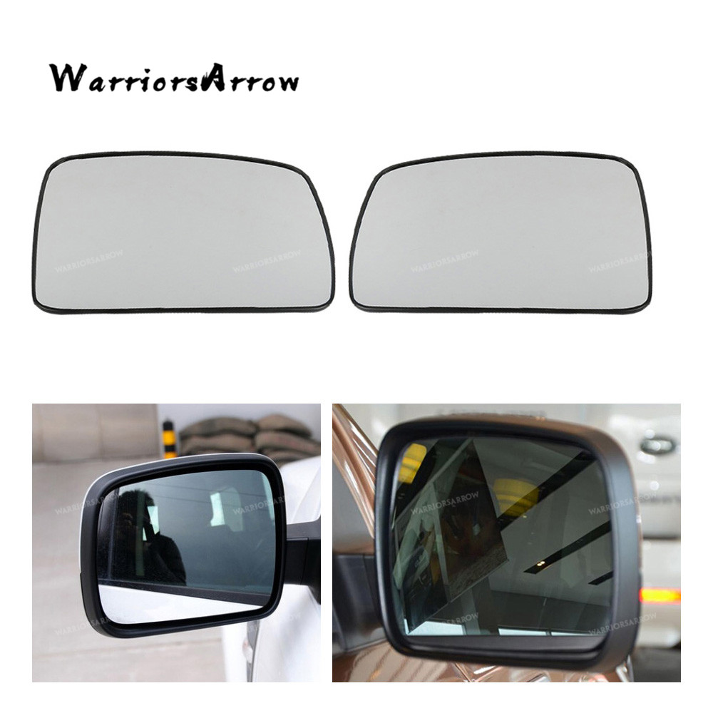 1Pair Heated Door Mirror Glass for Land Range Rover Sport Vogue LR2 LR3 2004-09