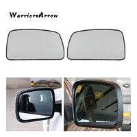 Warriorsarrow par esquerda + direita espelho de vidro para land rover lr2 lr3 range rover 2005 2006 2007 2008 2009 lr017067 lr017070
