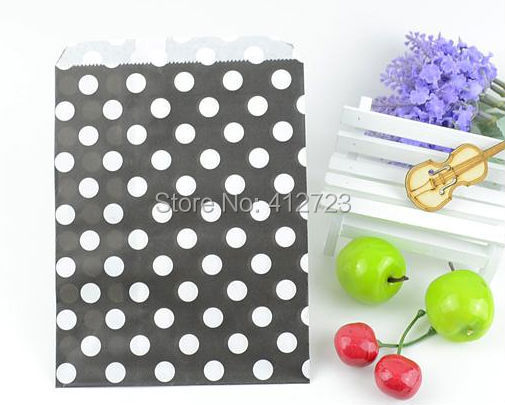 Dots Paper bags Party Favor Bags Wedding Sweets,Craft,Card Gift bags ...