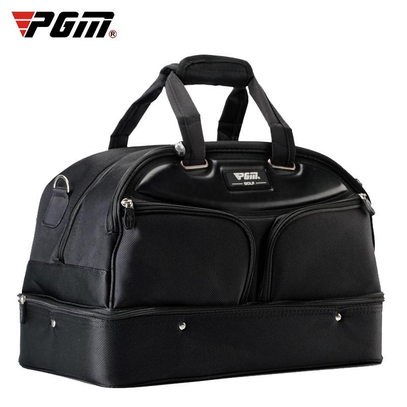 PGM Golf Clothing Pack Men's Portable Ball Pack Double-Layer Clothing Pack Double-Layer Large Capacity