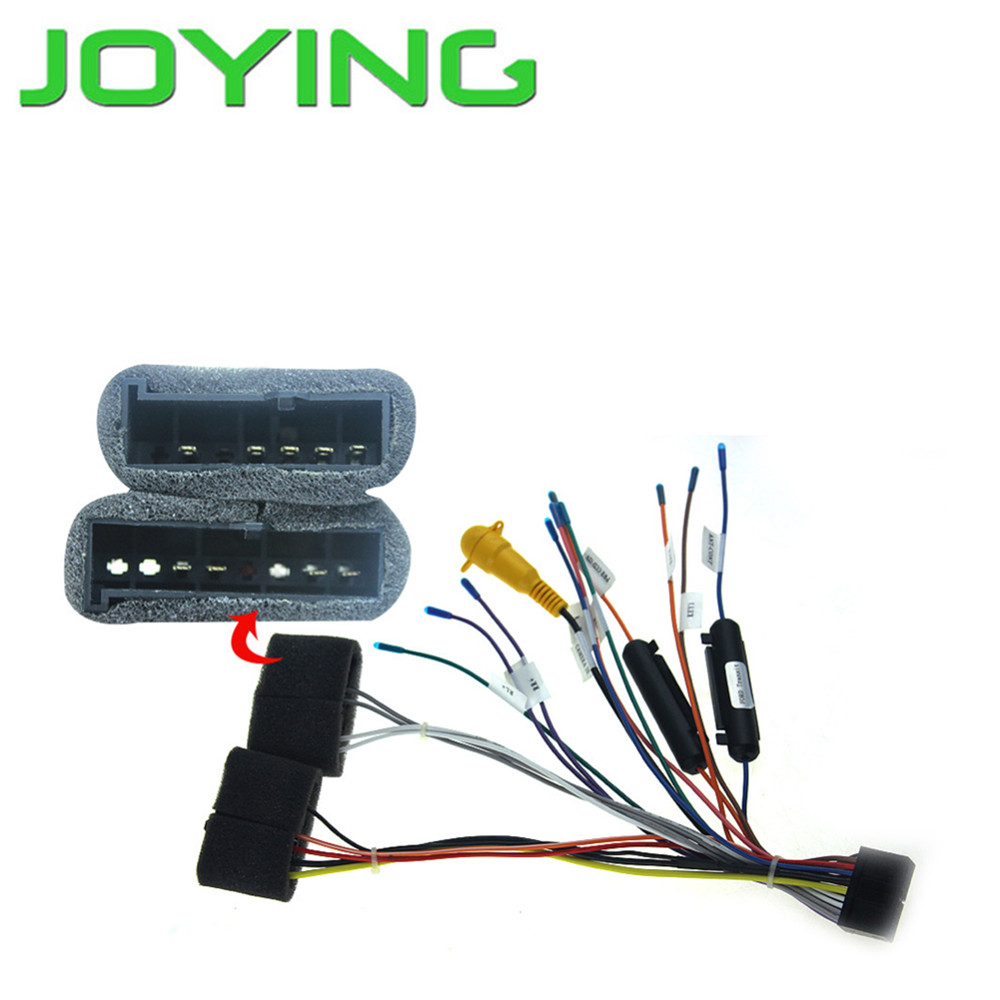 online get cheap ford wiring harness connectors com joying wiring harness for ford focus car audio stereo radio plug lead wire loom connector