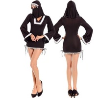 Santa Maria Cosplay Female Pastor Uniforms Stage Nun Costume Halloween Costumes For Women 2017