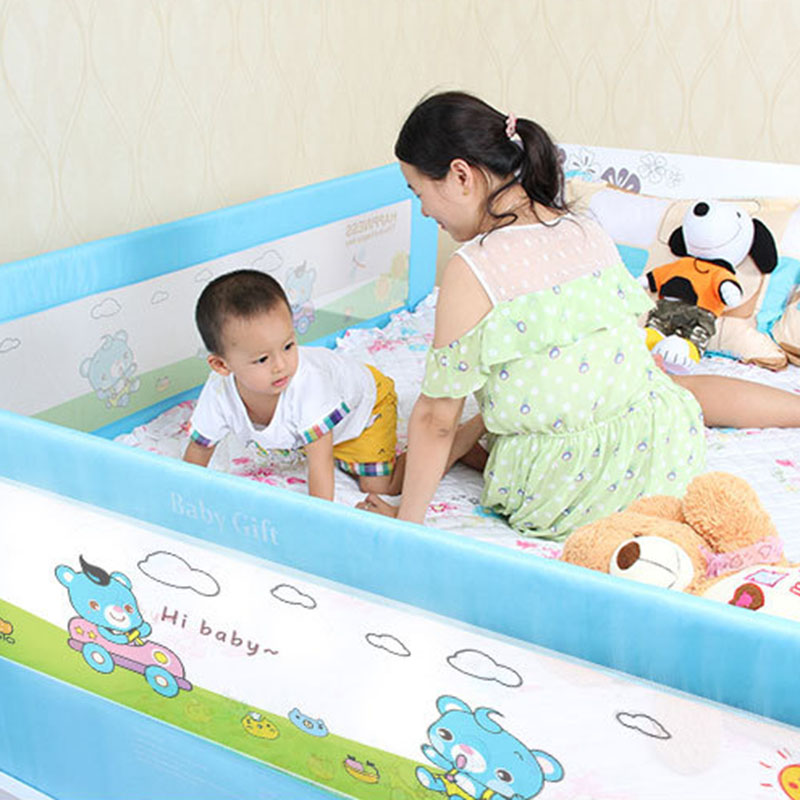 Newborn Playpens Baby Bed Fence Children Guard Kids Infant Safety Fences Gates Doorways 12 15 18 2 Meters