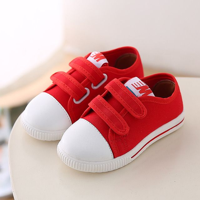 Kids Canvas Shoes 2017 New Baby First Walkers High Quality Leisure Toddler Shoes Newborn Baby Sneakers Baby Shoes Baby Sneakers