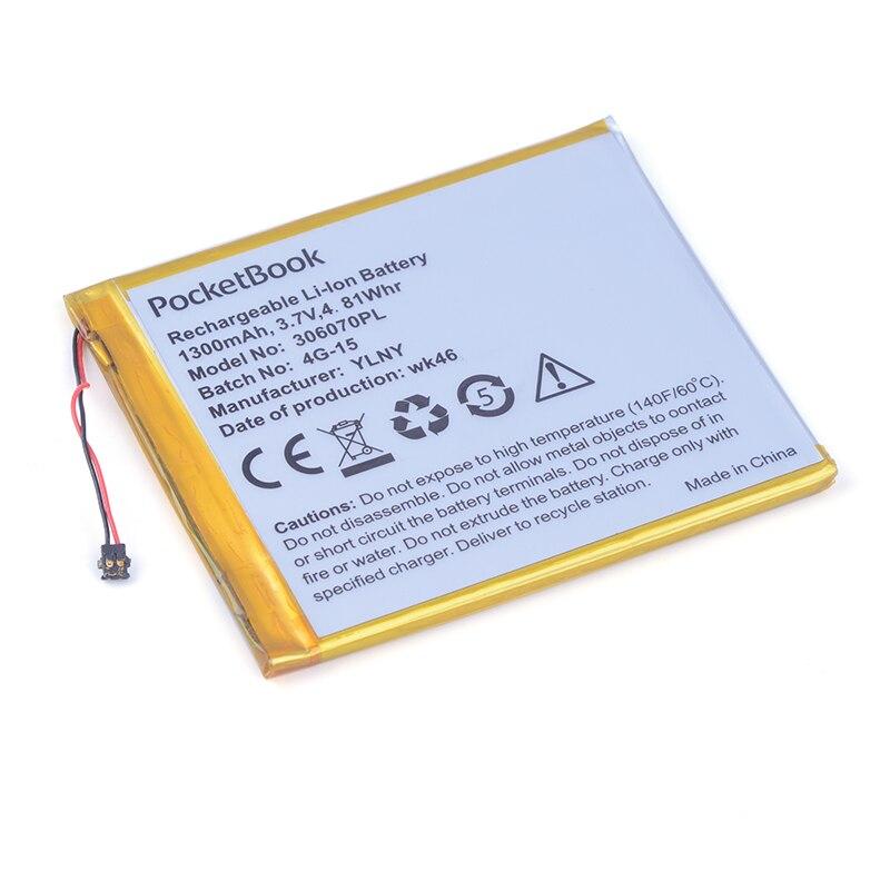 306070PL 3.7V 1300mAh Rechargeable li Polymer Li-ion Battery For PocketBook 626 615 E-BOOK 4G-15 4K-19 Battery 306070 036070 1300mah li ion battery