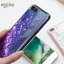Get more info on the KISSCASE Soft TPU Glitter Liquid Case For iPhone 6 6S 7 Plus 5 5S Transparent Quicksand Cover For iPhone 7 6 6S Plus 5 5S Shells