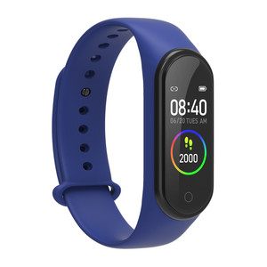 Image 5 - New m4 pro smart band HD 0.96 inch color screen heart rate blood pressure fitness tracker waterproof watches pk mi band 4 ID115