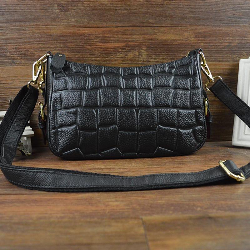 Chu JJ Vintage Style Cow Leather Women Shell Bags 100% Genuine Leather Handbag Stone Ladies Shoulder & Crossbody Bag цена 2017