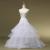 2017 Más Reciente Boda Enaguas 2 Aros de Tres Capas Accesorios de Novia de Tafetán de Tulle Para El vestido de Bola Vestidos de La Cintura Elástico