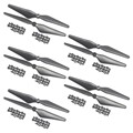 9450 Propeller CW CCW Nylon Props for Phantom 2/3 Multicopter Quadcopter Black Grey White 10 pcs/5 pairs