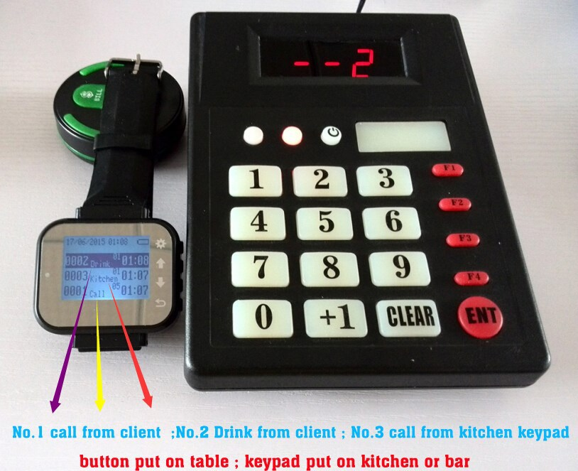 Restaurant Kitchen Order System aliexpress : buy smart watch restaurant order kitchen