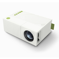 YG310 Portable LCD Projector HD Video LED Mini Projector Smart Home Cinema Theather Video Projector 1080P
