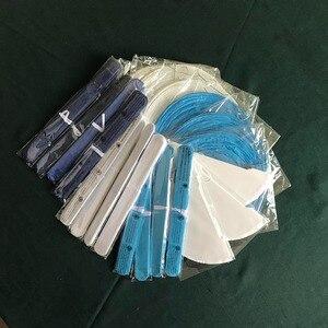 Image 5 - Bambino Doccia Ragazza Decorazione 22 pz/set Rosa Beige Blu Set Rotonda Lanterna di Carta Per Bambini Battesimo Favore di Partito Appeso Mestieri di Carta
