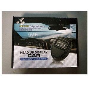 Image 4 - Geyiren HUD Gps A1 Head Up Display Car HUD Speedometer Projector Speed Alarm Display Kilometers Windshield Projector HUD Car GPS