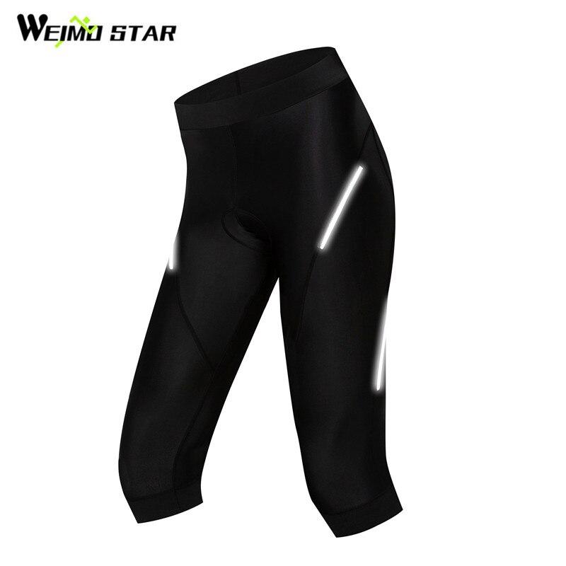 Weimostar das mulheres calções de ciclismo mountain bike bicicleta shorts 3d gel acolchoado respirável mtb equitação ciclismo calças shorts